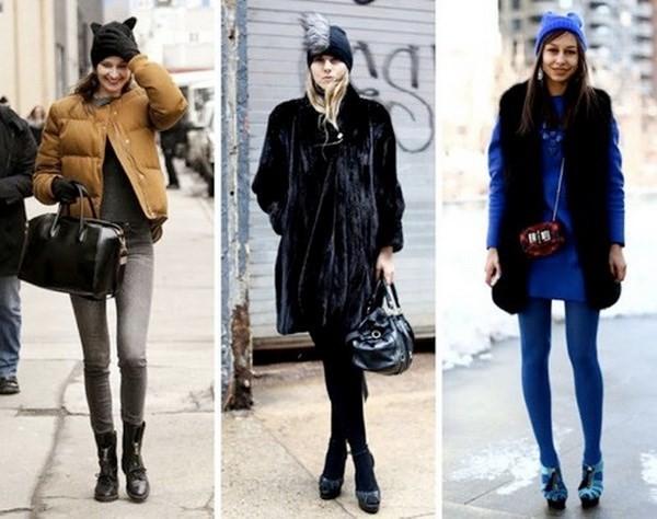 """Những phong cách kết hợp """"cực ăn ý"""" giữa mũ len và kiểu tóc - ảnh 13"""