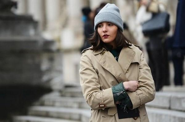 """Những phong cách kết hợp """"cực ăn ý"""" giữa mũ len và kiểu tóc - ảnh 15"""