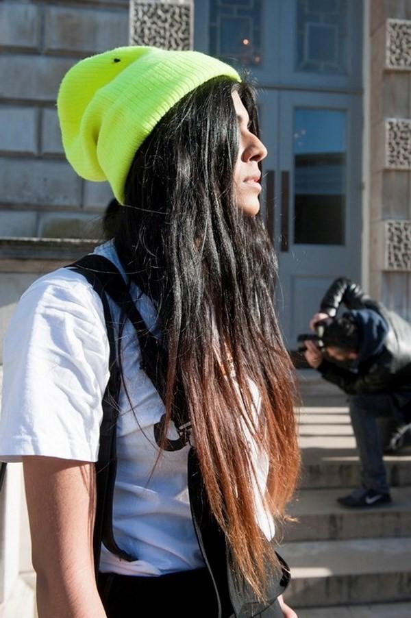 """Những phong cách kết hợp """"cực ăn ý"""" giữa mũ len và kiểu tóc - ảnh 5"""