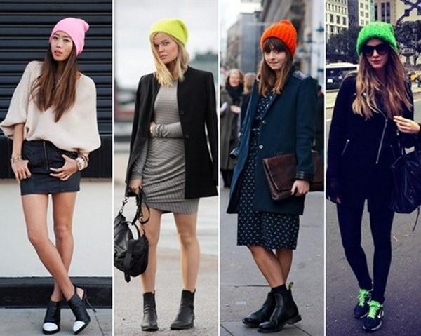 """Những phong cách kết hợp """"cực ăn ý"""" giữa mũ len và kiểu tóc - ảnh 6"""