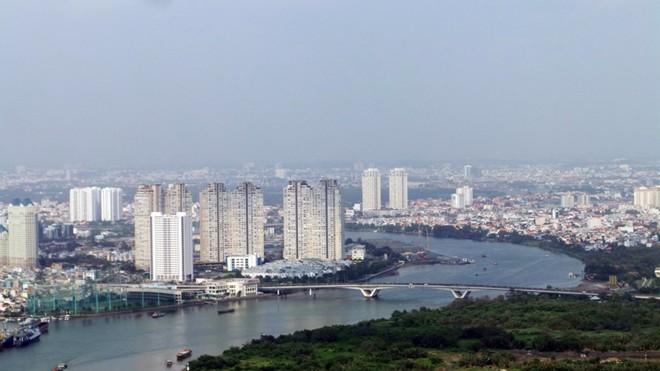 Bệ pháo hoa ở sân trực thăng tòa nhà cao nhất Sài Gòn - ảnh 9