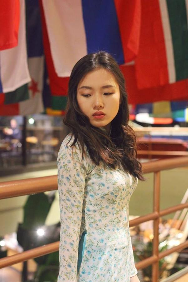 Mặn mà nhan sắc nữ sinh Việt tại New York - ảnh 2