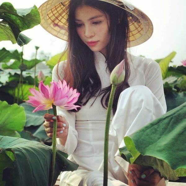 Mặn mà nhan sắc nữ sinh Việt tại New York - ảnh 8