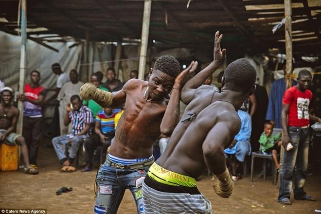 Tận thấy sàn đấu máu lửa của võ thuật Nigeria - ảnh 2