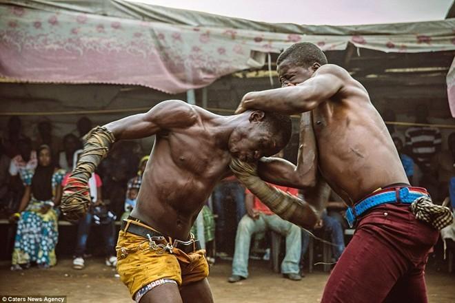 Tận thấy sàn đấu máu lửa của võ thuật Nigeria - ảnh 3