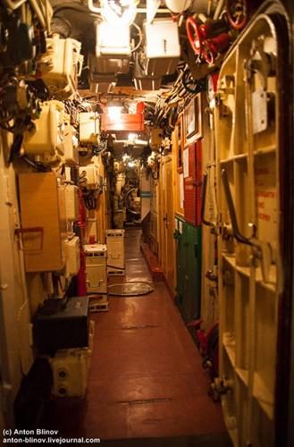 'Đột nhập' tàu ngầm cổ nhất Hải quân Ukraine - ảnh 2
