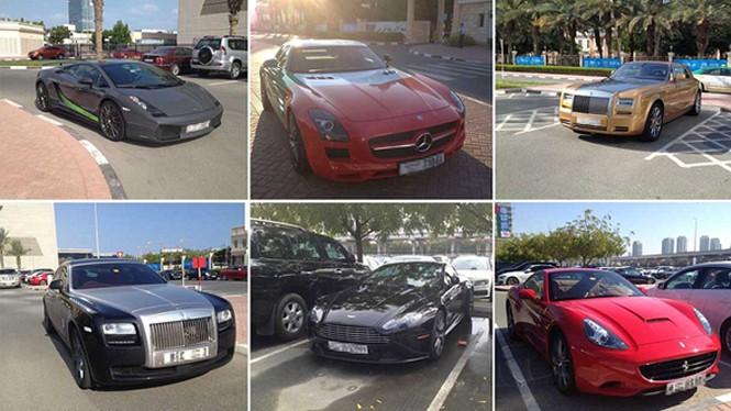 Bãi đậu xe như salon ô tô ở trường đại học 'con nhà giàu' - ảnh 1