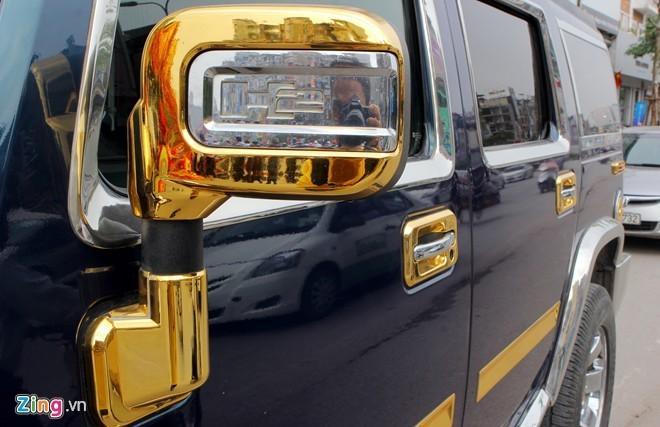 Lóa mắt với Phantom và Hummer H2 mạ vàng ở Hà thành - ảnh 9