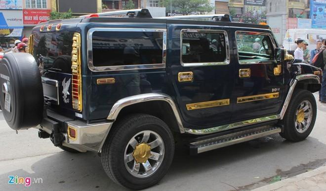 Lóa mắt với Phantom và Hummer H2 mạ vàng ở Hà thành - ảnh 10