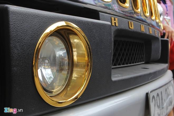 Lóa mắt với Phantom và Hummer H2 mạ vàng ở Hà thành - ảnh 5