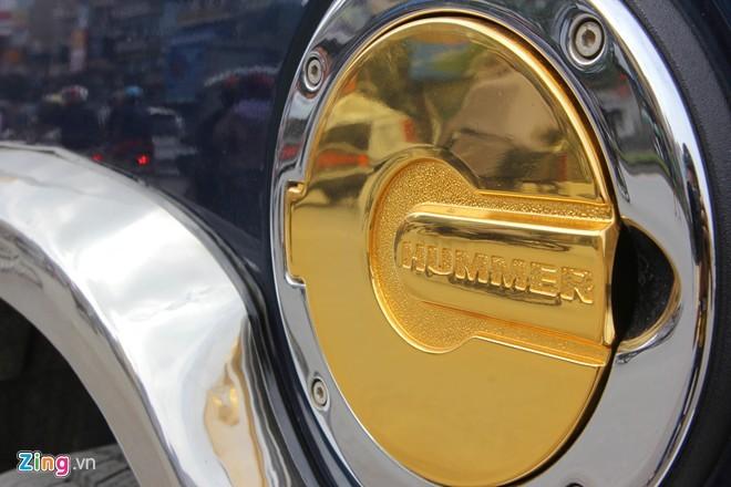 Lóa mắt với Phantom và Hummer H2 mạ vàng ở Hà thành - ảnh 6