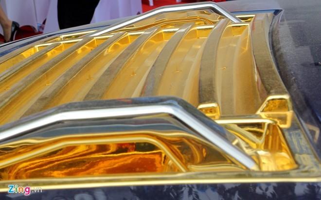 Lóa mắt với Phantom và Hummer H2 mạ vàng ở Hà thành - ảnh 8