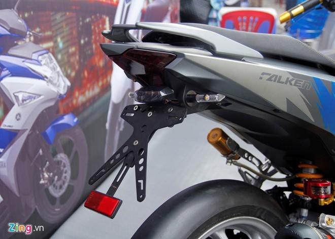 Exciter 150 độ phong cách  Lamborghini tại Sài Gòn - ảnh 9