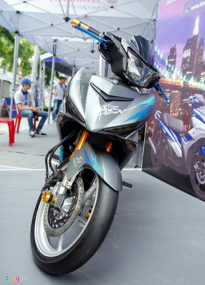 Exciter 150 độ phong cách  Lamborghini tại Sài Gòn - ảnh 1