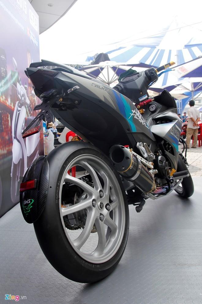 Exciter 150 độ phong cách  Lamborghini tại Sài Gòn - ảnh 2