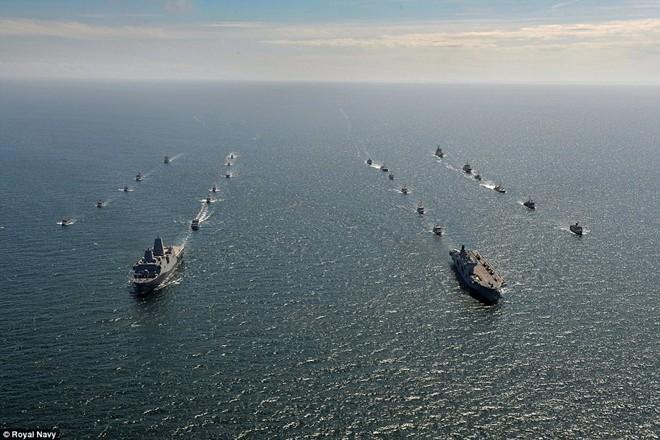 Tận thấy chiến hạm rầm rộ tới tập trận lớn nhất của NATO - ảnh 2