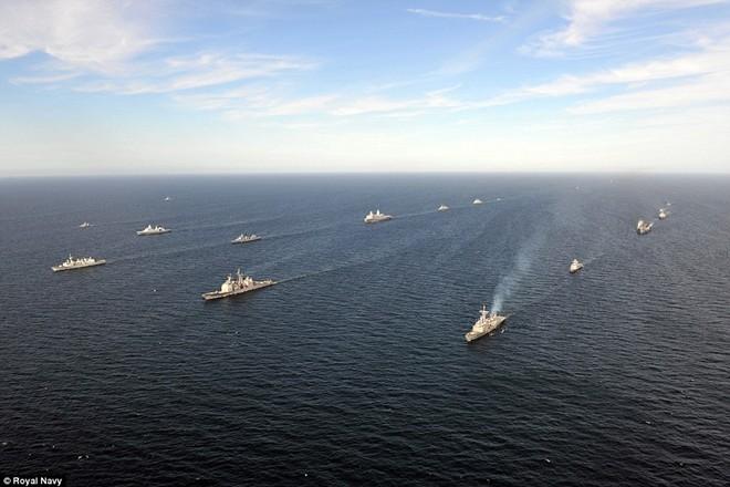 Tận thấy chiến hạm rầm rộ tới tập trận lớn nhất của NATO - ảnh 3