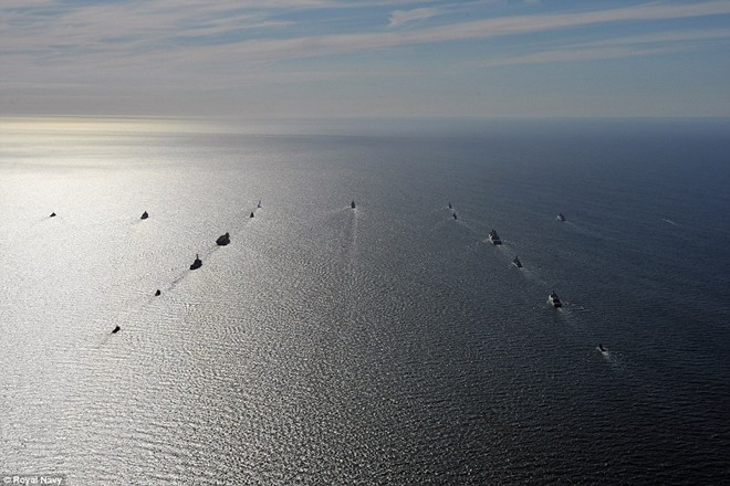 Tận thấy chiến hạm rầm rộ tới tập trận lớn nhất của NATO - ảnh 4