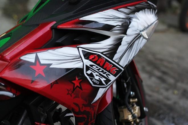 Lóa mắt với Exciter 150 phong cách chim ưng của biker Sài Gòn - ảnh 2