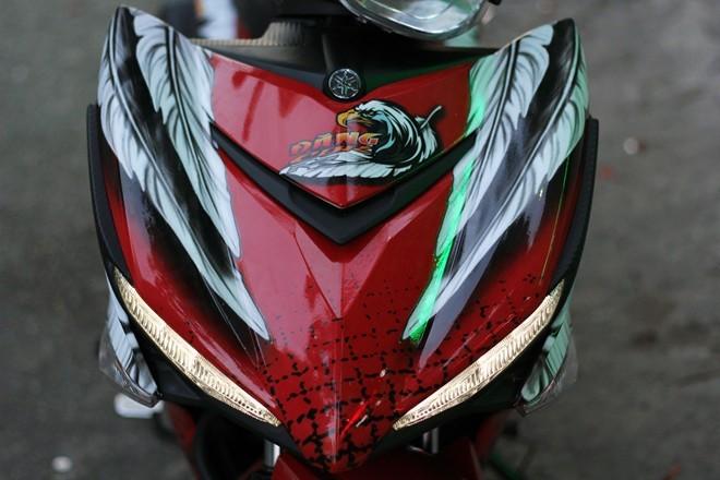 Lóa mắt với Exciter 150 phong cách chim ưng của biker Sài Gòn - ảnh 3