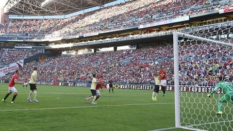 HLV Van Gaal nức nở khen tân binh sau trận thắng Club America - ảnh 1