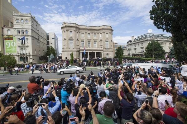 Bên trong Đại sứ quán của Cuba tại Mỹ - ảnh 1