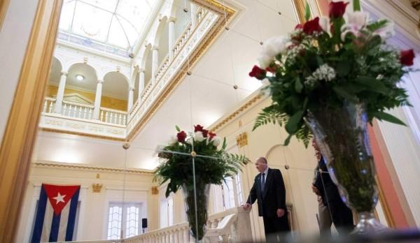 Bên trong Đại sứ quán của Cuba tại Mỹ - ảnh 4