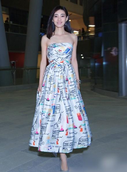 Nhan sắc 'Mỹ nhân mặt mộc đẹp nhất Trung Quốc' - ảnh 8