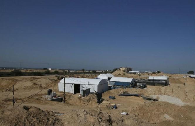 Bên trong đường hầm buôn lậu vũ khí tại Dải Gaza - ảnh 5