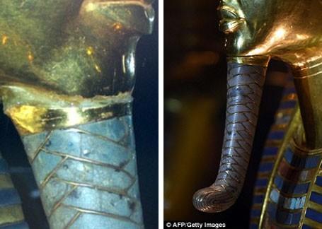 Vẻ đẹp hoàn hảo của chiếc mặt nạ vàng ròng 3.300 năm tuổi - ảnh 2