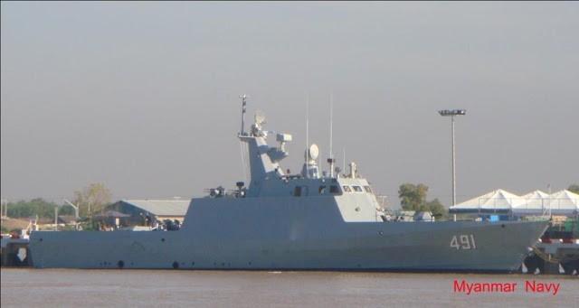 Tiết lộ về sức mạnh của khinh hạm tàng hình Myanmar - ảnh 1