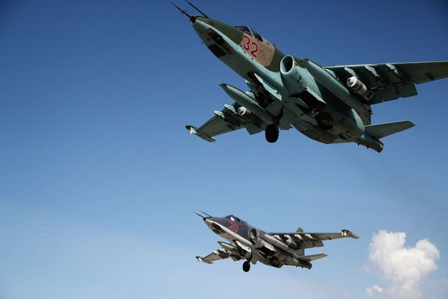[ẢNH] Nhìn lại chiến dịch của Không quân Nga ở Syria - ảnh 1