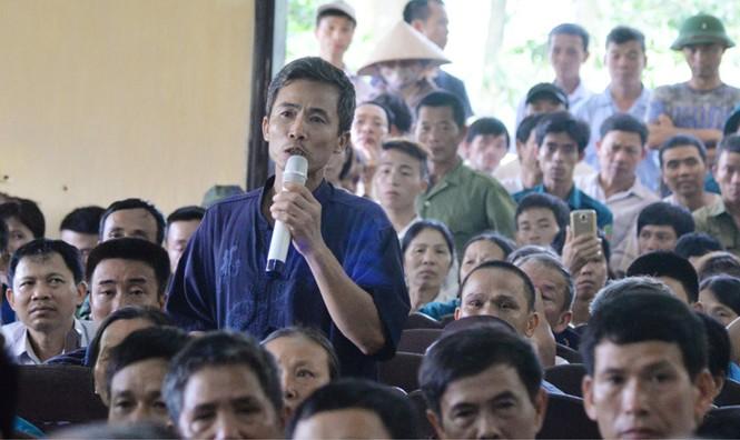 Chủ tịch Hà Nội đối thoại với dân khu rác thải Nam Sơn - ảnh 1