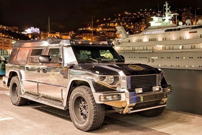 Dartz Kombat Prombron - siêu xe chống đạn giá triệu đô - ảnh 5