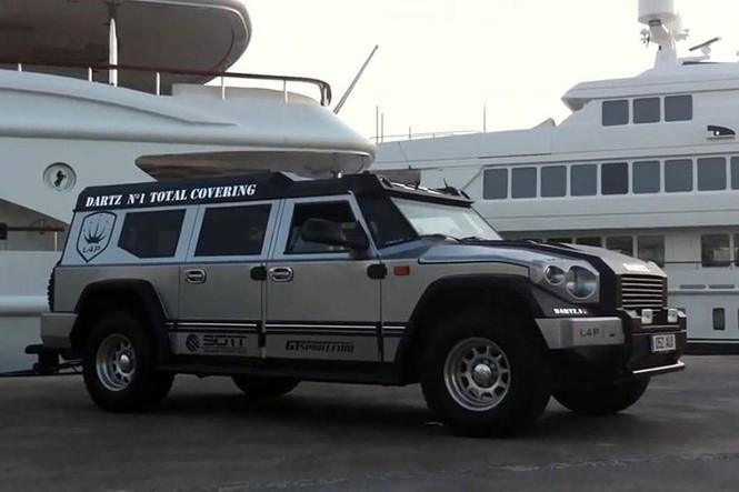 Dartz Kombat Prombron - siêu xe chống đạn giá triệu đô - ảnh 8