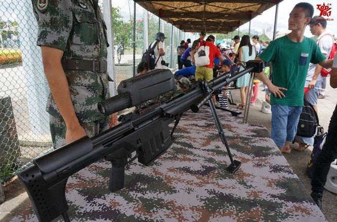 Nhận diện loại súng bắn tỉa nguy hiểm nhất Trung Quốc - ảnh 2