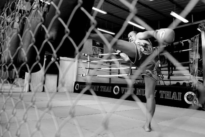 Muay Thai len lỏi vào đời sống võ Việt - ảnh 1