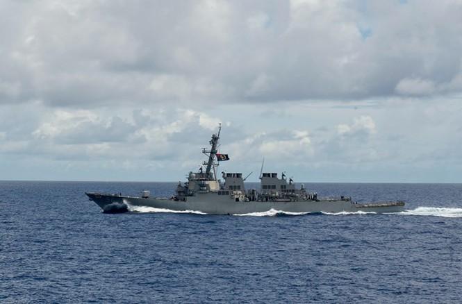 Mục kích tên lửa của Hải quân Mỹ khai hỏa trên biển - ảnh 15