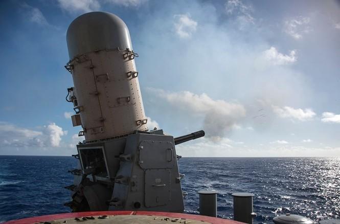 Mục kích tên lửa của Hải quân Mỹ khai hỏa trên biển - ảnh 3
