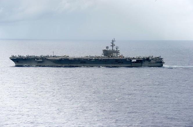Mục kích tên lửa của Hải quân Mỹ khai hỏa trên biển - ảnh 5