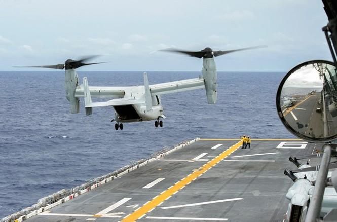 Mục kích tên lửa của Hải quân Mỹ khai hỏa trên biển - ảnh 9