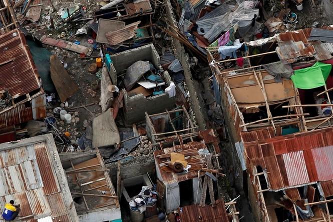 Cảnh tan hoang như thời chiến ở Haiti sau bão Matthew - ảnh 3