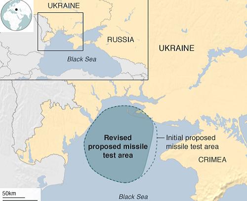 Ukraine khai hỏa 16 tên lửa phòng không gần Crimea - ảnh 1
