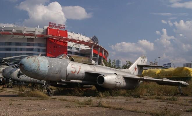 Nấm mồ hoang phế của các máy bay Nga giữa thủ đô Moscow - ảnh 10