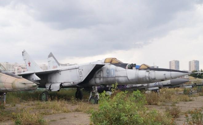 Nấm mồ hoang phế của các máy bay Nga giữa thủ đô Moscow - ảnh 1
