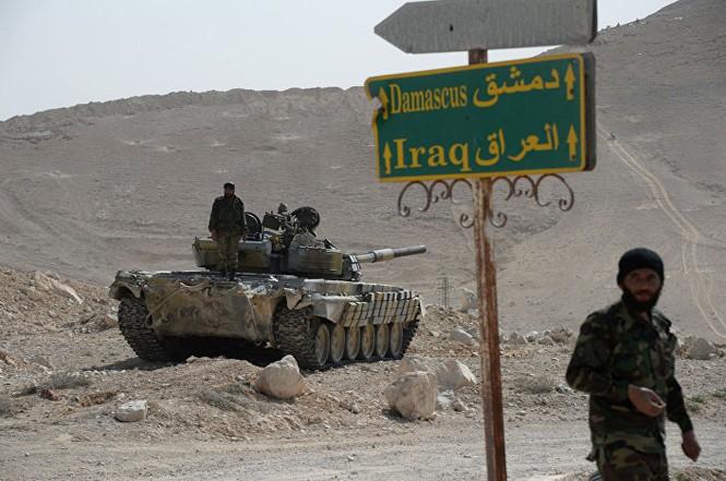 Hàng loạt xe tăng thời Liên Xô tham chiến ở Syria - ảnh 4