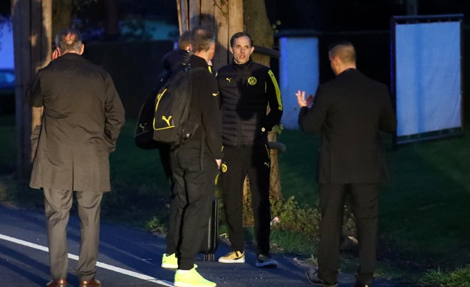 Không khí lo lắng bao trùm Dortmund sau vụ đánh bom - ảnh 4