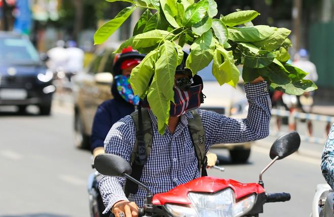 Người Sài Gòn vật vã trong nắng nóng hầm hập đầu mùa - ảnh 1