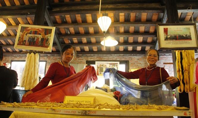 Khai mạc Festival tơ lụa, thổ cẩm Việt Nam – châu Á - ảnh 3