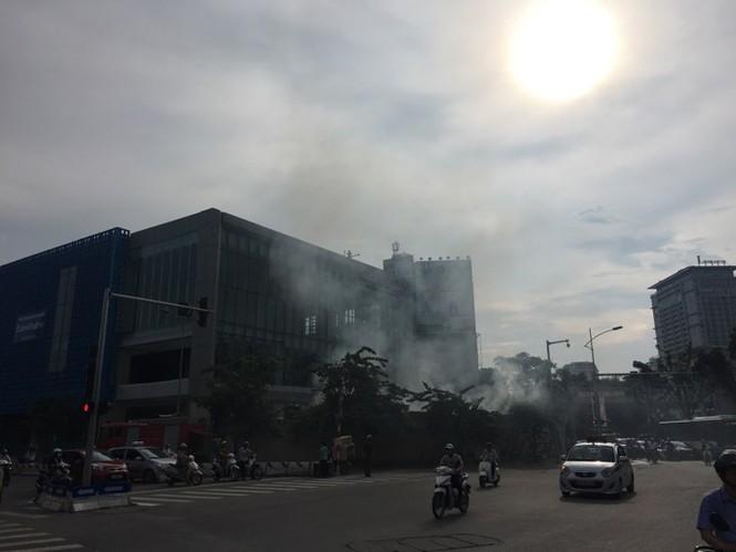 Cháy trong công trường nhà ga đường sắt Cát Linh - Hà Đông - ảnh 2